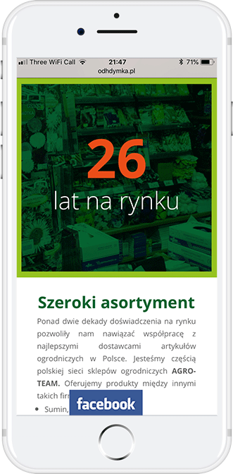 mobile design dymka