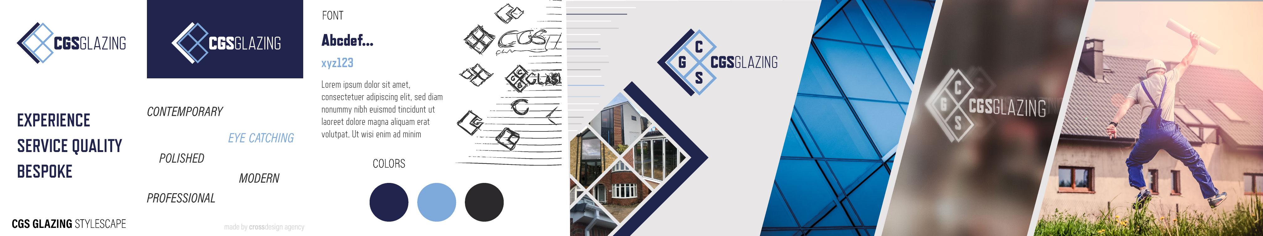 Stylescape Graphic Design: CGS Glazing Yorkshire